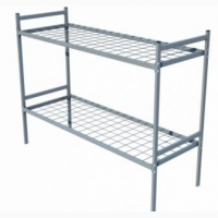 Кровати металлические двухъярусные для рабочих