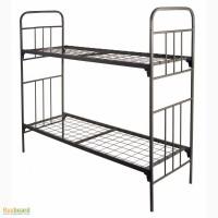 Кровати металлические ГОСТ, надежные металлические кровати двухъярусные и одноярусные
