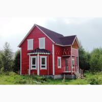 Новый красивый теплый дом с личной скважиной и электричеством, у озера
