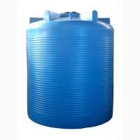 Большие накопительные пластиковые баки от 3000 до 10 000 литров