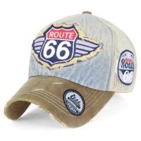 Бейсболка Route 66 Wing Logo