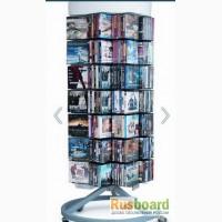 Торговые стойки для продажи книг и DVD б/у