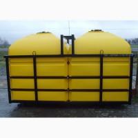 Бочки в обрешетке для подвоза воды, ЖКХ, КАС, Агрохимии (Транспортные кассеты)