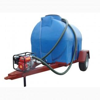 Бочка на прицепе для трактора и авто 3000 и 5000 литров