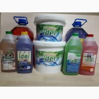 Производство моющих и дезинфицирующих средств