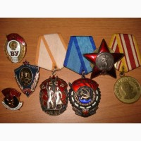 Куплю в Омске значки, медали, награды 59-75-19