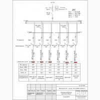Разработка проектов, схем, чертежей по электрике