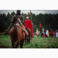 Стрельба из лука на лошади