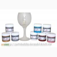 Купить краску для стекла Морозный эффект