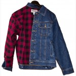 Куртка джинсовая Wrangler Rugged Wear Flannel RJK32AN