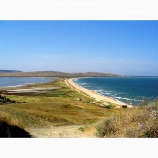 Продам участок (10 га) в Крыму (озеро Чокрак)
