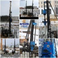 Штанговый дизельный молот DD-35 в Наличие