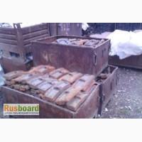 Колодка тормозная чугунная гребневая тип М для локомотивов ГОСТ 30249