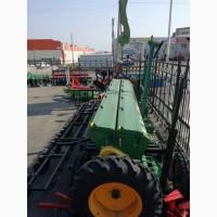 Сеялка зернотуковая BOZKURT 40 рядов 125 мм, большие колеса, пальцевый загортач