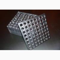 Плитка металлическая напольная