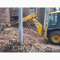 Демонтаж кирпичных зданий услуги СПб