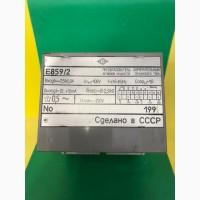 Е859/2 преобразователь измерительный