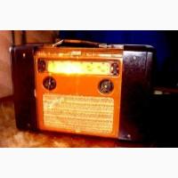 Куплю ламповый радиоприёмник, радиолу