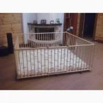 Купить большой детский деревянный манеж 2, 0х2, 0м с калиткой