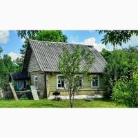 Крепкий домик с хорошей баней в хуторного типа деревушке под Псковом