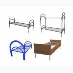 Железные армейские кровати, одноярусные металлические для больниц, бытовок, общежитий