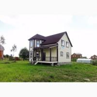Новый теплый дом с частичными коммуникациями, рядом с лесом и прудом