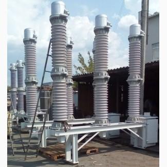Высоковольтное оборудование: Выключатели, трансформаторы, вводы, привода, разъединители