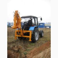 Экскаватор быстромонтируемый на трактор