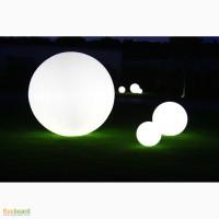 Светящиеся LED шары и кубы. Светящаяся LED мебель