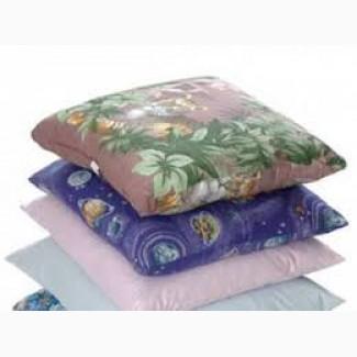 Подушки синтепон, подушки ватные в гостиницы, общежитие оптом