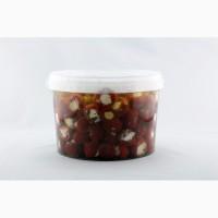 Македонские маринованные перчики фаршированные сливочным сыром - 1, 8 кг (чистого продукта)