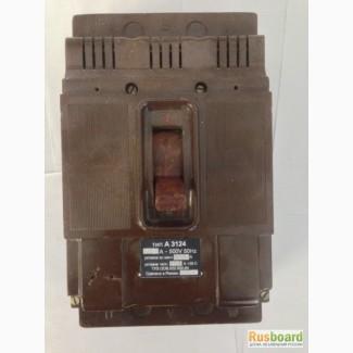 Автоматический выключатель А-3114, А-3120, А-3124, А-3134, А-3144, А-3161, А-3163