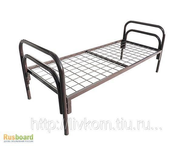 Фото 7. Трёхъярусные металлические кровати, кровати металлические для санаториев, клиник и лагерей