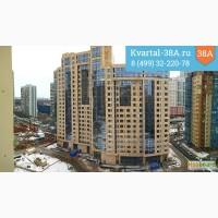 В ЖК Квартал 38а продаем 1-комнатную квартиру