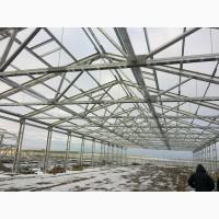 Строительство ангары, склады, фермы для животноводства, овощехранилищ