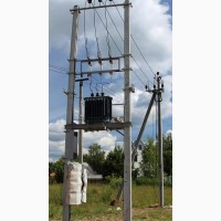 Мачтовые МТП и Столбовые СТП трансформаторные подстанции мощностью 25…250 кВА