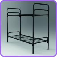 Армейские железные кровати оптом, кровати для бытовок, кровати двухъярусные