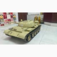 Модель танка Т-55 в масштабе 1:8.5 ручная работа