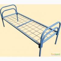 Кровати одноярусные металлические от 850 рублей для рабочих и строителей, кровати в хостел
