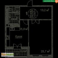 Купите 1-комн. квартиру в ЖК Квартал 38а по реальной стоимости