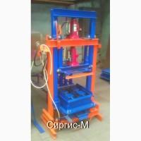 Вибропресс для производства блоков и кирпича