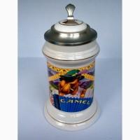 Пивная керамическая кружка Budweiser Joe Camel