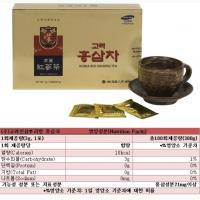 Чай из красного женьшеня (Ю. Корея)
