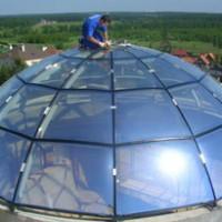 Стеклянные купола, остекление крыш