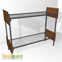 Кровати металлические двухъярусные для рабочих и строителей от производителя