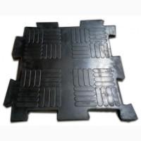 Литое резиновое покрытие из плиток «Резиплит – Паркет»