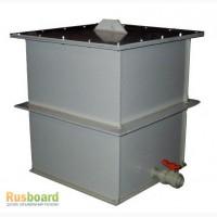 Ванны хим.стойкие для приготовления и хранения электролита