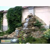 Строительство водопадов, фонтанов