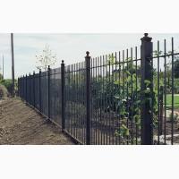 Изготовление, установка заборов, откатных и распашных ворот
