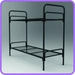 Трёхъярусные металлические кровати для общежитий, кровати металлические для санаториев